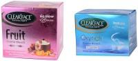 Clear Face Fruit Cream Bleach With Oxyrich Cream Bleach (Set Of 2)