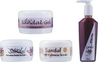 Adidev Herbals Herbal Skin Whitening Sandal Fairness Pack (Set Of 4)