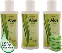 Yeturu's Aloe Fresh Shampoo (Aloe Vera 15%) 80ml (pack Of 3no's) (Set Of 3)