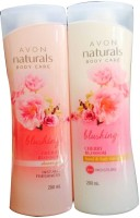 Avon Naturals Cherry Blossom Shower Gel And Hand & Body Lotion (Set Of)