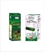 Besure Combos and Kits Besure Extra Virgin Olive Oil with Aloe Vera Body Lotion