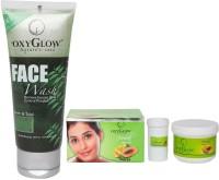 Oxyglow Neem & Tulsi Face Wash & Harbal Bleach Cream (Set Of 2)
