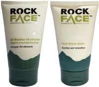 Rockface Post Shave Balm & All Weather Moisturizer (Set Of 2)