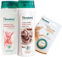 Himalaya Herbals Intensive Body Lotion, Face Lotion & Lipbalm (Set Of 3)