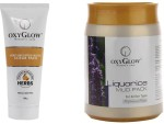 Oxyglow Combos and Kits Oxyglow Honey & Papaya Enzyme Scrub Pack & Liquorice Mud Pack