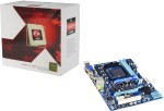 AMD/Gigabyte AMD 3.6 GHz AM3+ FX4100 Processor and Gigabyte GA 880GM D2H Moth