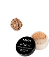 NYX Mineral Matte Finishing Powder Compact  - 8 G (Medium)