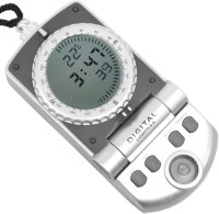 JM Digital Thermometer Compass (Grey)