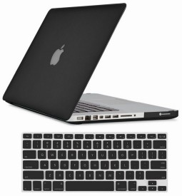 Tuzech Hard Rubberized Case For Macbook Pro 13 With Keyboard Skin Combo Set