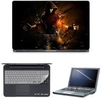 Skin Yard Kill Me Vocal Cover Laptop Skin With Screen Protector & Keyguard -15.6 Inch Combo Set