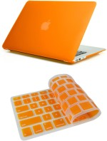 Pindia Orange Matte Finish Apple Macbook Pro 13 13.3 inch Md101hn/A Md101ll/A Hard Case Shell Cover Keyboard