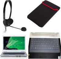 QP360 Sleeve-15.6inch,ScreenGuard-15.6inch,Skin-15.6inch,QHM316-Headset Combo Set