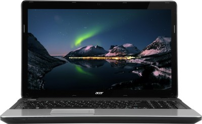 Acer Aspire E1-571 Laptop 3rd Gen Ci3/ 2GB/ 500GB/ Linux Black
