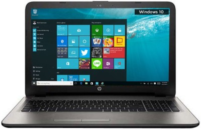 HP 15-AF103AX P3C93PA#ACJ APU Quad Core A8 - (4 GB DDR3/1 TB HDD/Windows 10/2 GB Graphics) Notebook (15.6 inch, Turbo SIlver)