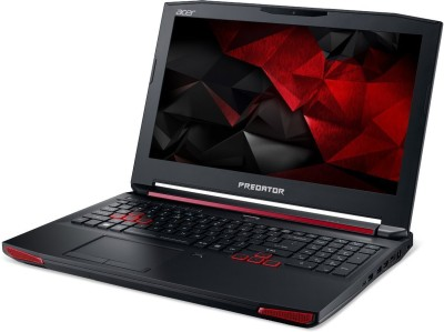 Acer Predator G9-591 NX.Q0ASI.001 Core i7 - (16 GB/1 TB HDD/Windows 10/4 GB Graphics) Notebook (15.6 inch, Black)