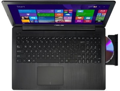 Asus XX515D X Series X553MA XX515D Pentium Quad Core - (2 GB DDR3/500 GB HDD) Notebook (15.6 inch, Black)