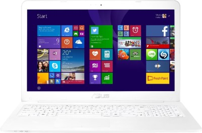 Asus Eeebook E502MA-BING-XX0079B 90NL0021-M02250 Pentium Quad Core - (2 GB DDR3/500 GB HDD/Windows 8.1) Notebook (15.6 inch, White)