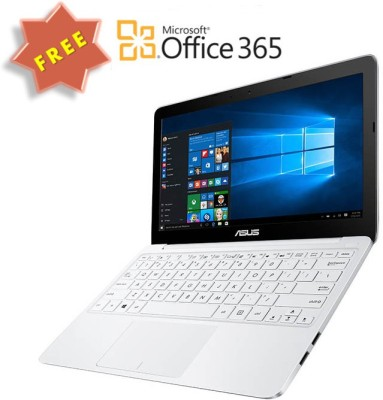 Asus X205TA-FD0060TS X Series X205TA-FD0060TS 90NL0731-M07730 Intel Atom - (2 GB DDR3/32 GB EMMC HDD/Windows 10) Netbook (11.6 inch, White)