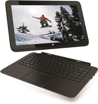 HP Pavilion 11h115TU X2 Laptop (4th Gen Ci5/ 4GB/ 128GB SSD/ Win8.1/ Touch) (11.49 inch, Imprint SParkling Black Colour With Micro Dot Pattern)