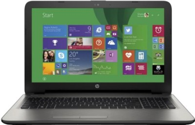 HP 15-ac030TX Notebook (Core i3 5th Gen/ 4GB/ 1TB/ 2GB Graph/ Win8.1) (M9V10PA) (15.6 inch, Turbo SIlver Color With Diamond & Cross Brush Pattern)