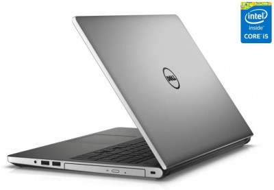 Dell Inspiron 5000 5558 5558i581t4gbW8SilM Core i5 - (8 GB DDR3/1 TB HDD/Windows 8.1/4 GB Graphics) Notebook
