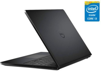 Dell Inspiron 15 3558 355834500iB Core i3 - (4 GB DDR3/500 GB HDD/Windows 8) Notebook (15.6 inch, Black)