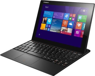 Lenovo Miix-3 1030 80HV004SIN Intel Atom Quad Core - (2 GB DDR3/32 GB EMMC HDD/Windows 8.1) 2 in 1 Laptop (10.1 inch, Black)