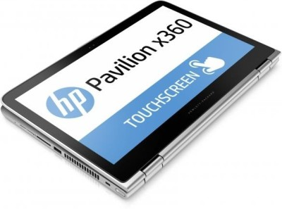 HP Pavilion13 x360 s102Tu T0Y58PA#ACJ Core i3-6th Gen. - (4 GB DDR3/1 TB HDD/Windows 10) Notebook (13.3 inch, Natural SIlver Colour)