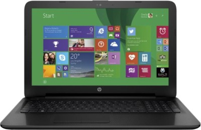 HP 15-ac054TU M9V72PA - (2 GB DDR3/500 GB HDD/Windows 8.1) Notebook (15.6 inch, Jack Black Color With Textured Diamond Pattern)