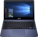 ASUS X205TA-FD0061TS 90NL0732-M07390 Intel Atom Quad Core - (2 GB DDR3/32 GB EMMC HDD/Windows 10) Netbook (11.6 Inch, Dark Blue)