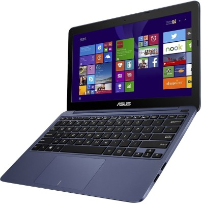 Asus EeeBook X205TA 90NL0732-M07230 Bay Trail-T Quad Core - (2 GB DDR3/32 GB EMMC HDD/Windows 8.1) Notebook (11.49 inch, Dark Blue)