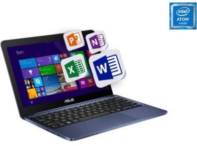 Asus EeeBook X205TA 90NL0732-M07230 Bay Trail-T Quad Core - (2 GB DDR3/32 GB EMMC HDD/Windows 8.1) Notebook (11.49 inch, Dark Blue)