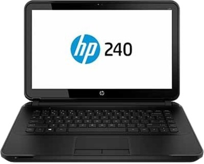 HP 240 G3 (Notebook) (Pentium Quad Core/ 4GB/ 500GB/ DOS) (K1Z77PA) (13.86 inch, SParkling Black)