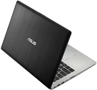 Asus S400CA-CA165H Ultrabook (3rd Gen Ci7/ 4GB/ 500GB/ Win8/ Touch) (90NB0051-M04730) (13.86 inch, Black)