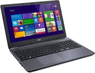 Acer E5-573-32JT 4Gb/1Tb win 10 Charcol Gray Aspire Aspire E5-573 UN.MVHSI.010 Core i3 (5th Gen) - (4 GB DDR3/1 TB HDD/Windows 10) Notebook (15.6 inch, Characol Gray)
