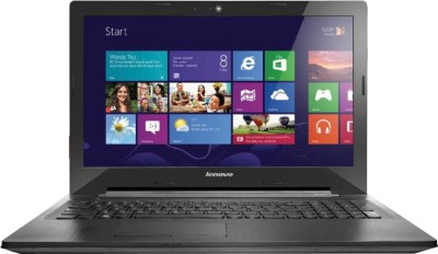 Lenovo G50-30 80G001Y2IN Pentium Quad Core - (2 GB DDR3/500 GB HDD/Windows 8.1) Notebook (15.6 inch, Black)