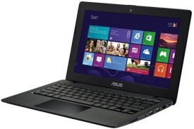 Asus X200MA-KX424D X Series Celeron Dual Core (4th Gen) - 11.6 Inch, 500 GB HDD, 2 GB DDR3, Free DOS Laptop (Black)