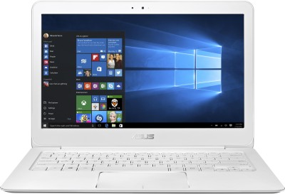 Asus ZenBook UX305CA-FC075T Dual Core - (4 GB/256 GB SSD/Windows 10) Ultrabook 90NB0AA2-M03550 (13.3 inch, White, 1.2 kg)