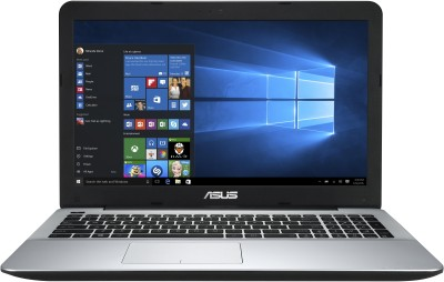Asus EeeBook A555LF-XX409D Intel Core i3 (5th Gen) - (4 GB/1 TB HDD/Free DOS/2 GB Graphics) Notebook 90NB08H2-M06000 (15.6 inch, Black, 2.30 kg)