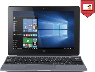 Acer S1002 (Intel Atom Quad Core/ 2GB/ 500GB/ Win10/Touch) (NT.G5CSI.001) 2 in 1 Laptop (10.1 inch, Dark SIlver)