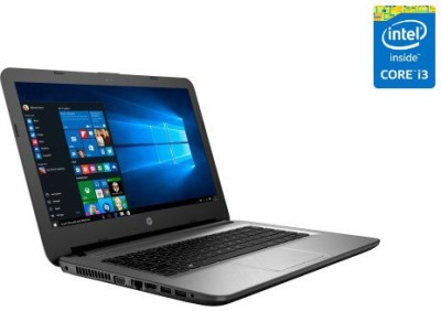 HP 14-AC108TU P3C95PA#ACJ Core i3 (5th Gen) - (4 GB DDR3/1 TB HDD/Windows 10) Notebook (14 inch, Turbo SIlver)