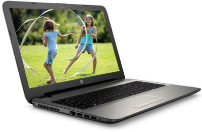 HP 15 AC 120TX (N8M23PA#ACJ) Core i3, 5th Gen - (4 GB DDR3/1 TB HDD/Free DOS/2 GB Graphics) Notebook (15.6 inch, Turbo SIlver Color With Diamond & Cross Brush Pattern)