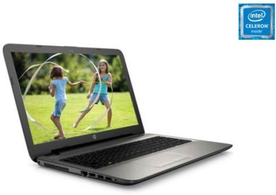 HP Pavilion15 AC 117TU (N8M13PA#ACJ) Intel CDC @1.6Ghz - (4 GB DDR3/500 GB HDD/Free DOS) Notebook (15.6 inch, Turbo SIlver Color With Diamond & Cross Brush Pattern)
