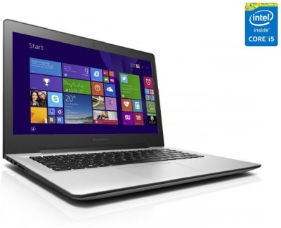 Lenovo U41-70 80JV007GIN Core i5 - (4 GB DDR3/1 TB HDD/Windows 8.1/2 GB Graphics) Notebook