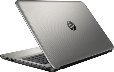 HP 15-af114AU P3C92PA#ACJ APU Quad Core A8 - (4 GB DDR3/1 TB HDD/Windows 10) Notebook (15.6 inch, Turbo SIlver Color With Diamond & Cross Brush Pattern)