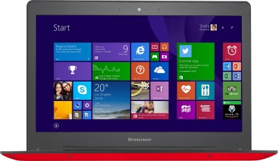 Lenovo U41-70 80JV007XIN Core i5 (5th Gen) - (4 GB DDR3/1 TB HDD/Windows 8/2 GB Graphics) Notebook (14 inch, Red)