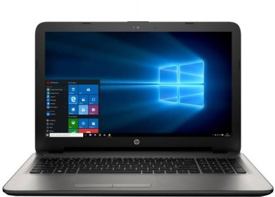 HP APU Quad Core A8 - (4 GB/1 TB HDD/Windows 10) Z1D89PA 15-bg002AU Notebook (15.6 inch, Turbo SIlver, 2.19 kg)