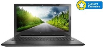 Lenovo G50-45 80E301N3IN APU Quad Core A8 - (8 GB DDR3/1 TB HDD/Free DOS/2 GB Graphics) Notebook (15.6 inch, Black)
