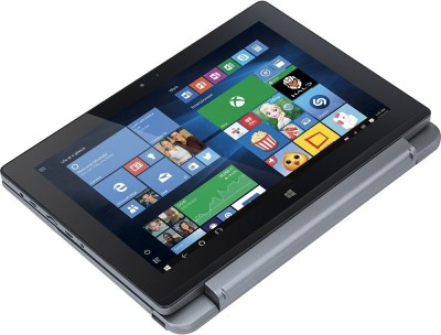 Acer One 10 S1002-15XR NT.G53SI.001 Quad-core (4 Core) - (2 GB DDR3/32 GB EMMC HDD/Windows 10) Netbook (10.1 inch, Dark SIlver)