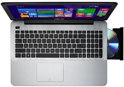 Asus A555LA-XX2064D A Series XX2064D 90NB0652-M32310 Core i3 (5th Gen) - (4 GB DDR3/1 TB HDD/Free DOS) Notebook (15.6 inch, Black)